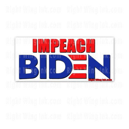 Impeach Biden Stickers