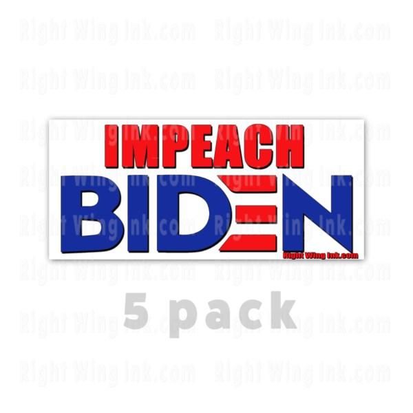 Impeach Biden Stickers 5