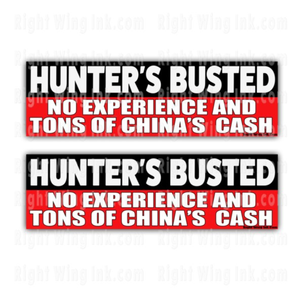 Hunters Busted Stickers 2