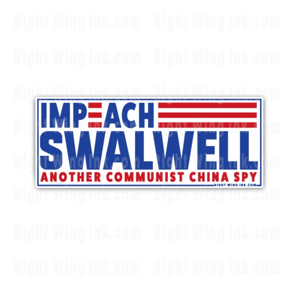 Impeach Swalwell Stickers -