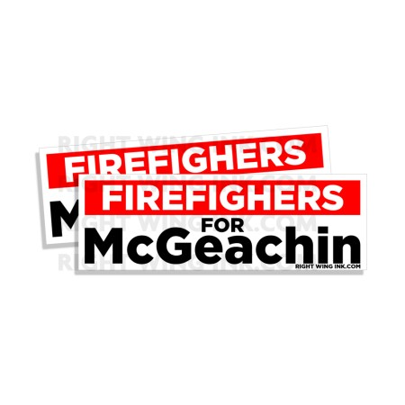 Firefighters for McGeachin 2 Pack