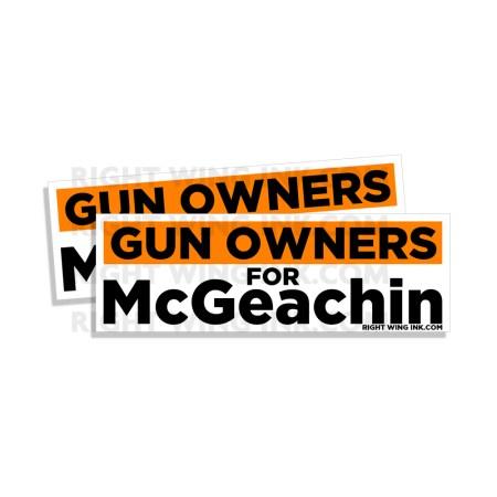 Gun Owners for McGeachin 2 Pack