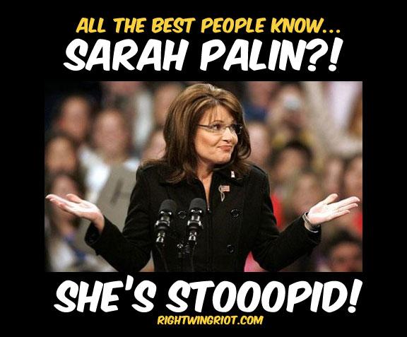 Palin-stoopid
