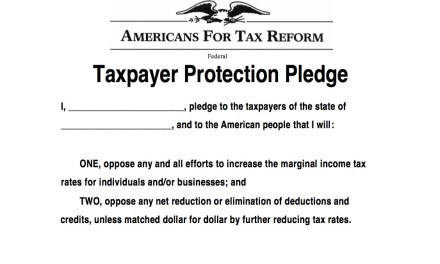 Vukmir Takes the Taxpayer Protection Pledge