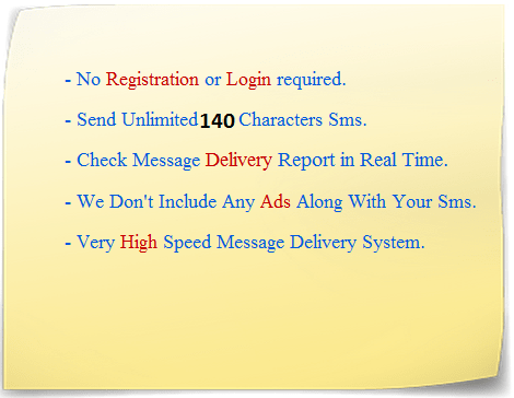 RyaL SMS : Send Free SMS without Registering - RIGHT ya LEFT
