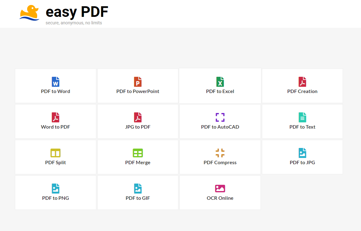 Making PDF Conversion Easier With Easy PDF - Online, Free
