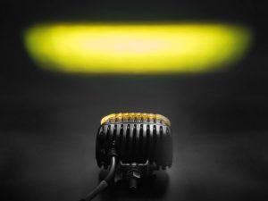 Как светит противотуманная фара RIGID SR-M SAE