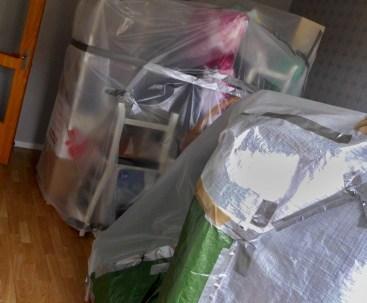 Mitt liv i ett paket.