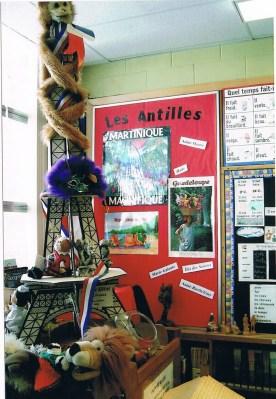 Francophonie dans la salle de classe