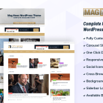 Best Free Magazine WordPress Theme – Mag News