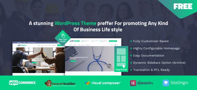 Free WordPress Health Theme