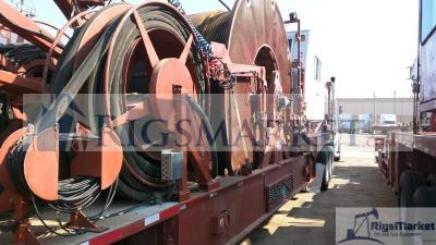 High Capacity Coiled tubing Hydra rig Unit- Two trailer configuration
