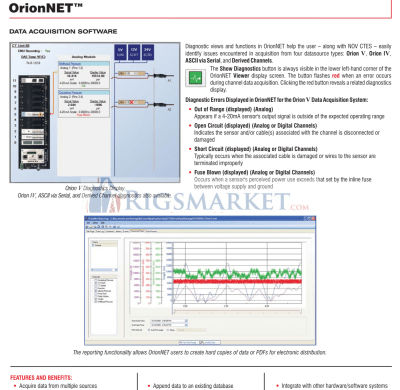 NOV CTES Orion VSystem, Coiled Tubing Data Acquisition