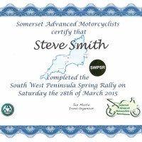 South West Peninsula Spring Rally 2015