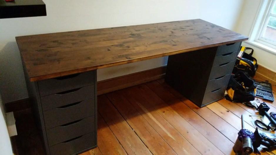 IKEA empty desk