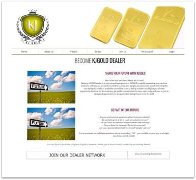 Gold Business Website