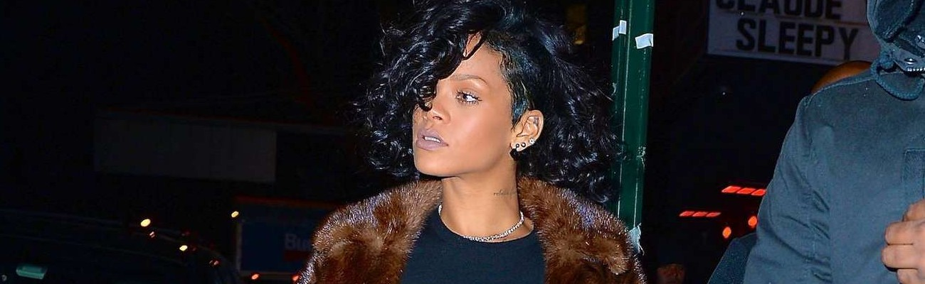 Rihanna at Marquee nightclub in NYC
