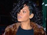 Rihanna at Marquee nightclub in New York