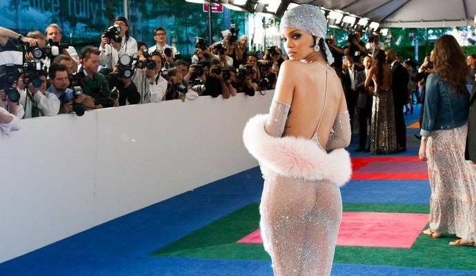 Rihanna attends CFDA Fashion Awards
