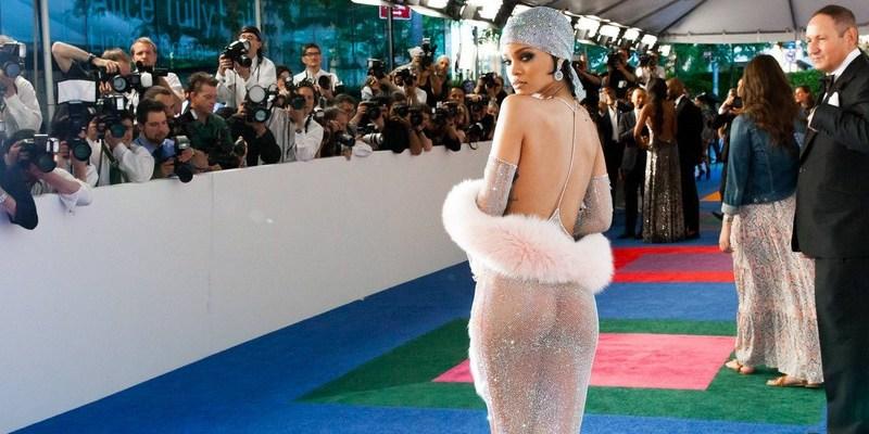 Rihanna attends CFDA Fashion Awards