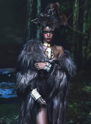 Rihanna for W Magazine 2014 Mert Alas