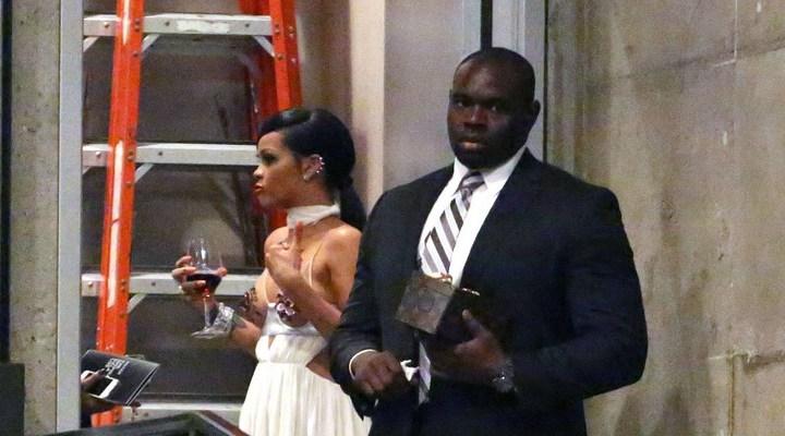 PHOTOS: Rihanna spotted leaving the amfAR Inspiration Gala