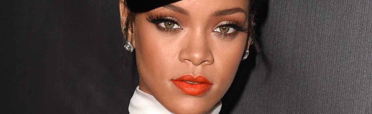 Rihanna looks stunning at the Inspiration Gala in Los Angeles