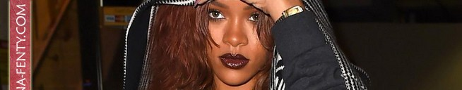 Rihanna is back in Los Angeles