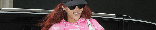 Rihanna visits her dentist in NYC