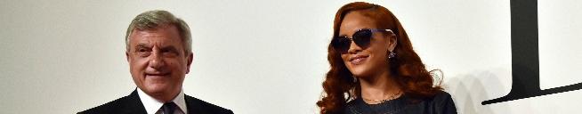 Rihanna attends 'Dior' fashion show in Tokyo