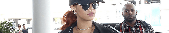 Rihanna left Los Angeles