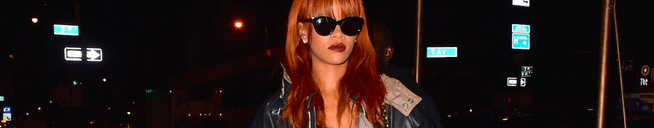 Rihanna goes out in NYC