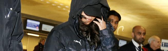 Rihanna left Paris