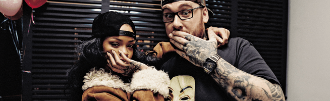Bang Bang talks Rihanna