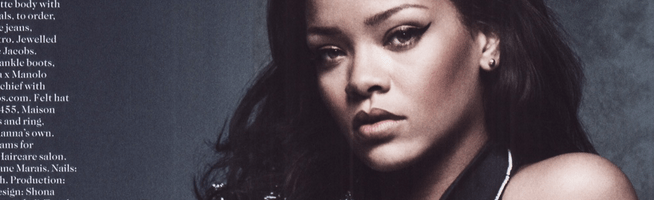 FIRST LOOK: Rihanna for British Vogue