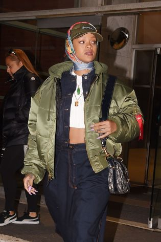 Rihanna in New York on March 23, 2017 pictures