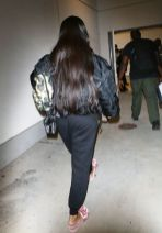 Rihanna at LAX Airport in Los Angeles on April 19, 2017 candids