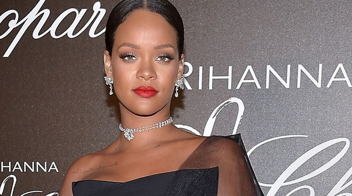 Rihanna attends Chopard dinner in Cannes
