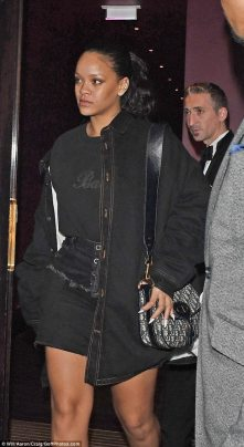 Rihanna out in London - September 29