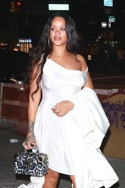 Rihanna at the Diamond Ball after party - September 14