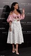 Rihanna launches Fenty Beauty in Madrid