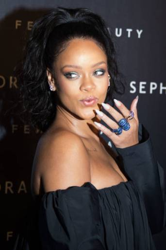 Rihanna attends Fenty Beauty launch in Paris - September 21