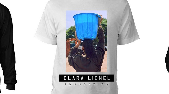 BUY NOW: Clara Lionel Foundation merchandise