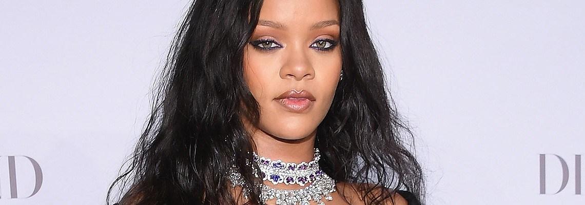 Rihanna shines bright at the third Diamond Ball