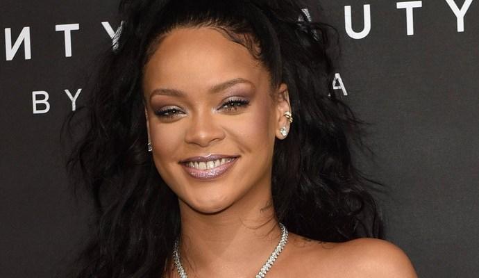 Rihanna attends Fenty Beauty launch in London