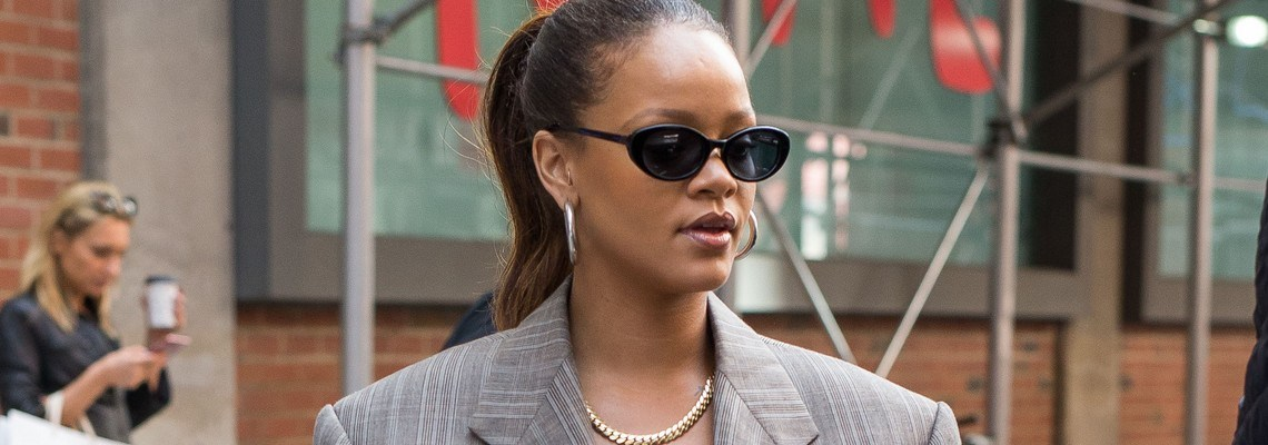 Rihanna goes out and about in New York