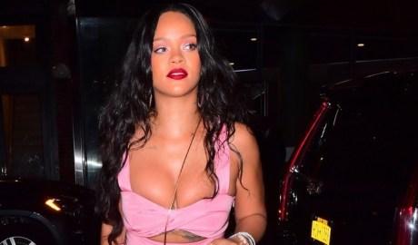 Rihanna steps out for dinner in New York - September 16