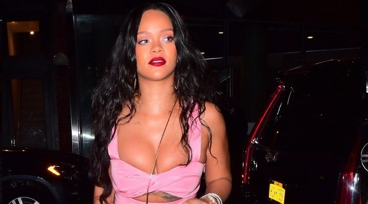 Rihanna steps out for a dinner in New York