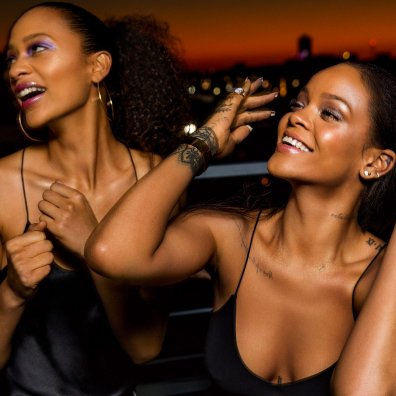 Fenty Beauty Galaxy collection by Rihanna promotional photo