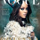 Rihanna on the cover of Vogue Arabia rihanna-fenty.com